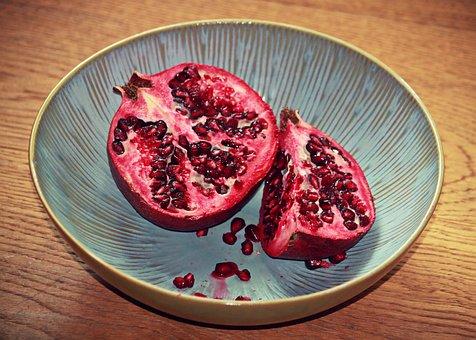 Pomegranate, Fruit, Fruit Kernels, Food, Eat, Healthy