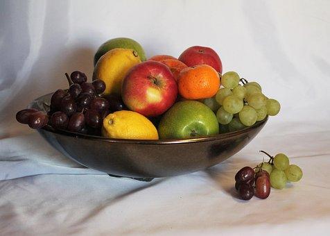Fruit Still Life, Large Bowl Of Fruit