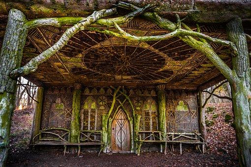 Hut, Landscape, Nature, Mood, Germany, View, Hiking