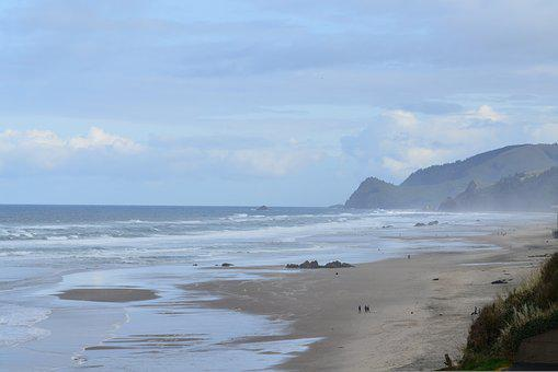 Lincoln City, Oregon, Coast, Ocean, Pacific, Beach