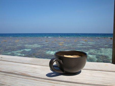 Coffee, Honeymoon, Maldives, Romance, Love, Beverage