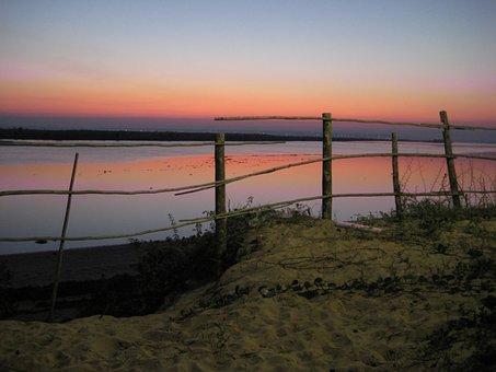 Sunset, Sea, Mosambiqe, Abendstimmung, Sunset Sea