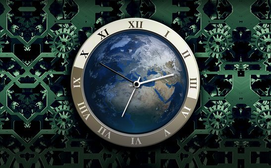 Clock, Movement, Time, Earth, Time Of, Time Indicating