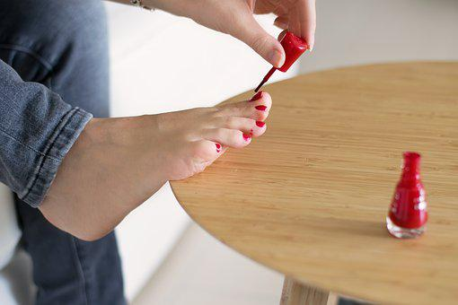 Nails, Foot, Make Up, Toe Nails, Nail Varnish, Woman