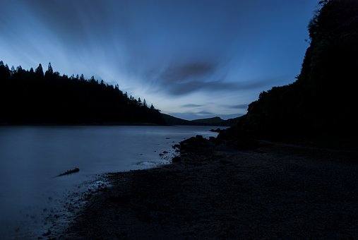 Daybreak, Azores, Natural, Beach, Nature, Water, Pond