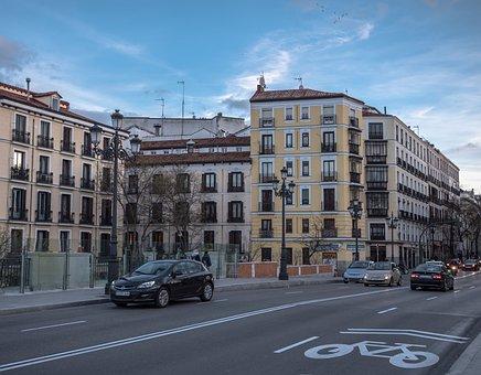 Street, Bicycle, Bike Path, City, Cycling, Transport