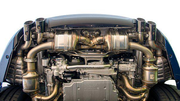 Motor, Engine Block, Exhaust System, Technology, Drive