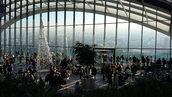 Panorama, Glass, Mirror, Vista, Scape, High Ground