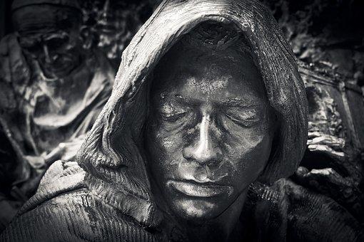 Statue, Face, Fig, Sculpture, Art, Head, Man, Ornament