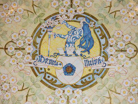 Tiles, Ceramic, Crafts, Catalan Modernism, Reus