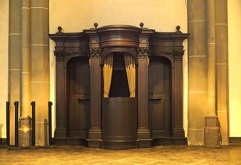 Church, Confessional, Confession, Furniture Pieces