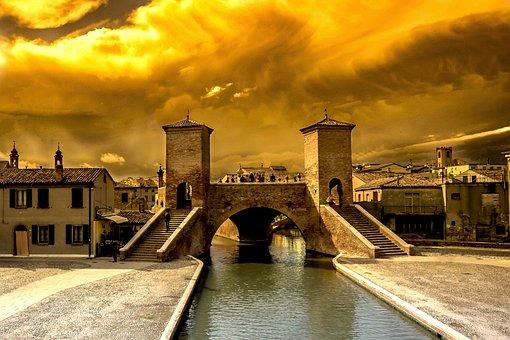 Trepponti, Ferrara, Comacchio, Italy