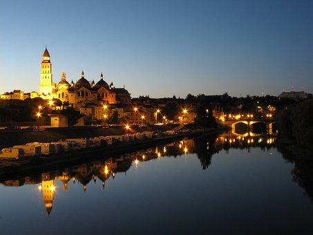 Cathedral Saint-front, Périgueux, Dordogne, France