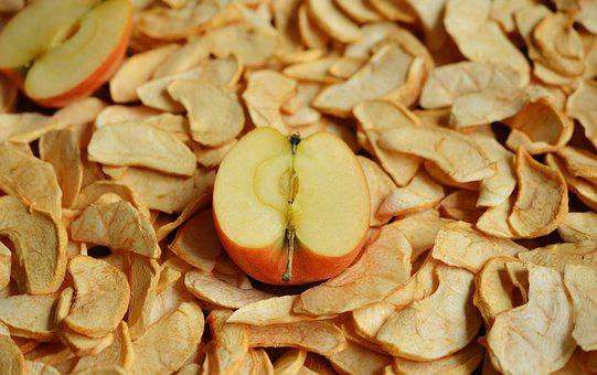 Apple, Dried Apples, Dried Fruit, Dried, Apple Slices