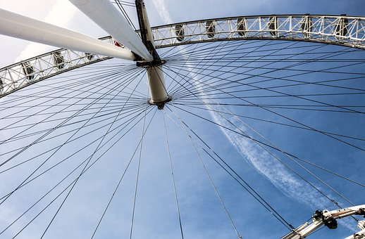 London, Ferris Wheel, London Eye, United Kingdom