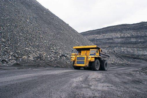 Industry, Dumper, Minerals, Coal, Gigantic Proportions