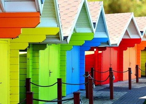 Beach, Hut, Sand, Summer, House, Wood, Building
