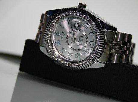 Luxury, Brilliant, Diamonds, Noble, Jewel, Clock