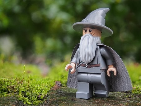 Wizard, Gandalf, Lego, Magic, Sorcerer