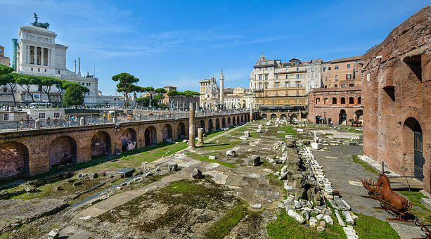 Rome, Ruins, Monument, Italy, Architecture, Ancient
