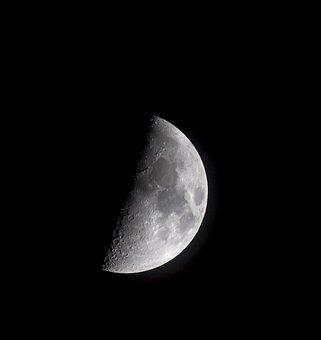 Moon, Space, Sky, Astronomy, Galaxy, Night, Planet
