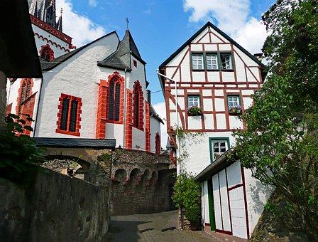 Ediger, Eller, Sachsen, Germany, Mosel, Old Town