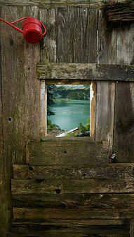 Lake, Wood, Nature, Please Refer, Home, Window