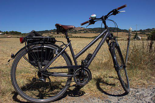 Bike, On The Go, Italy, Cycling, Casale Maritime