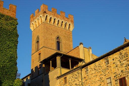 Tuscany, Italy, Querceto, Castello Di Ginori Querceto