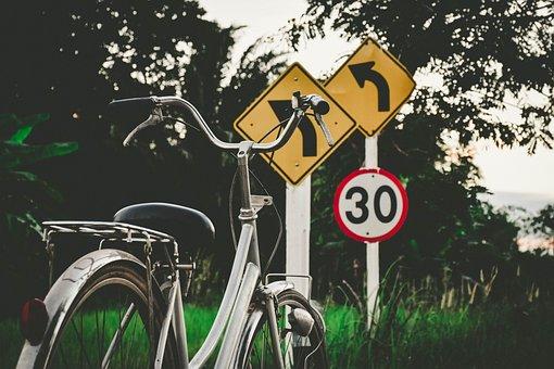 Bike, Label, Thailand, Bicycle, Road
