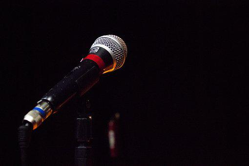 Microphone, Corner, Stage, Music, Show, Audience, Sing