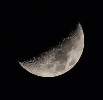 Moon, Space, Sky, Astronomy, Night, Galaxy, Planet