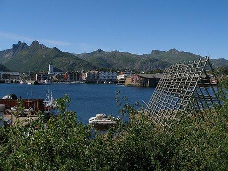 Svolvær, Norway, Hurtigruten, Lofoten, Scandinavia