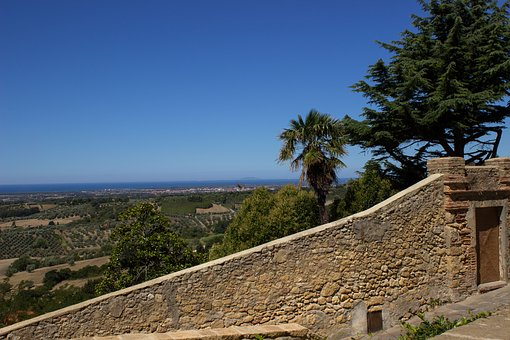 Tuscany, Querceto, Sea View, Historically, Old Town