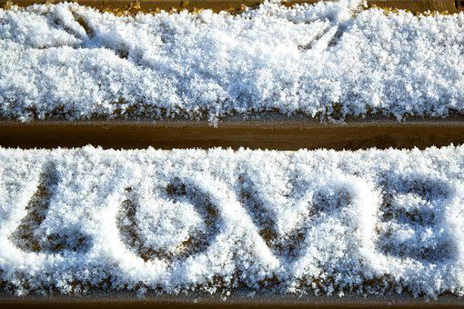 Love, Heart, Snow, Valentine, Romance, White, Sign