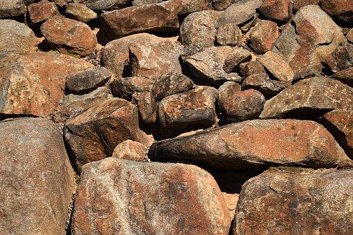 Stone, Wall, Rocks, Background, Backdrop, Old, Pattern