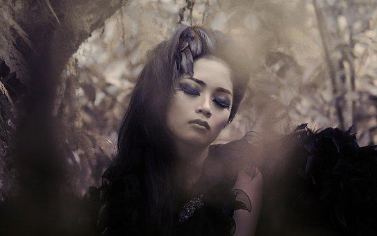 Portrait, Beauty, Model, Dark Photography, Halloween