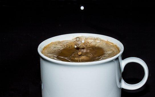 Coffee Cup, Cup, Coffee, Cafe, Foam, Coffee Foam