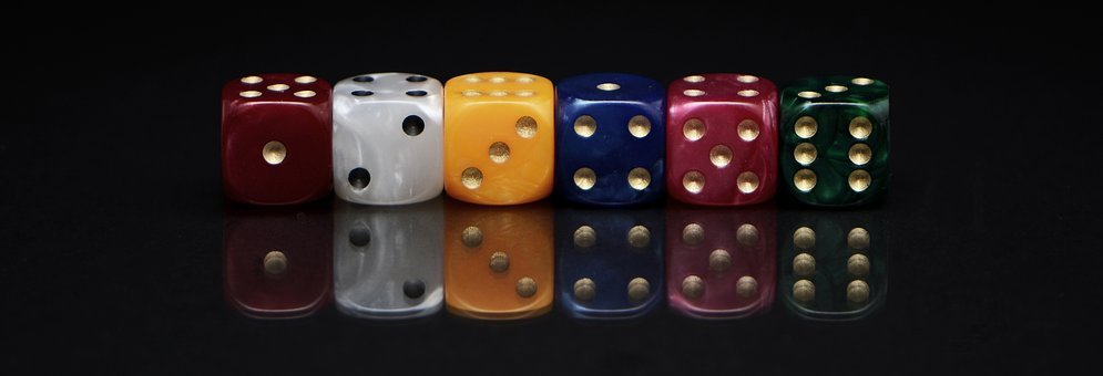 Cube, Roll The Dice, Play, Luck, Patience, Craps