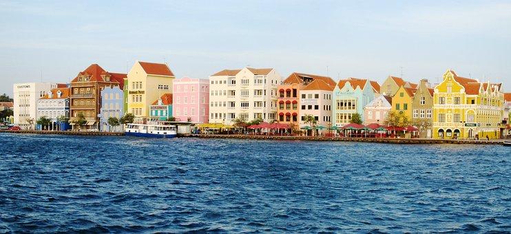 Willemstad, Punda, Sint Annabaai, Curacao, Abc Islands