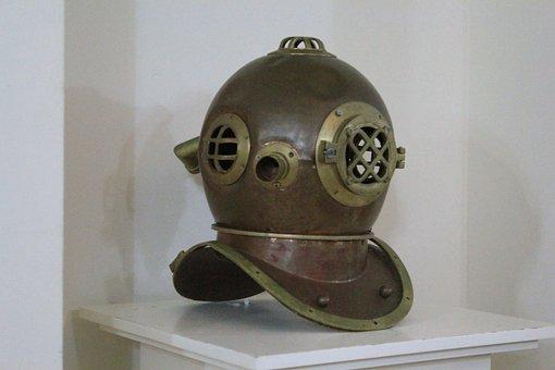 Divers Helmet, Diving, Helm