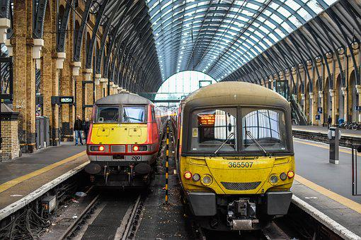 The Train Station, Train, Travel, Architecture, England