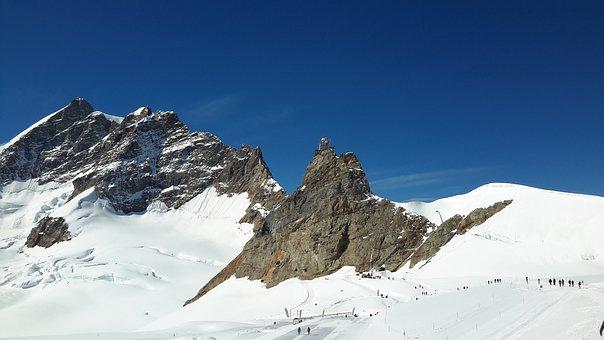 Switzerland, Bernese Oberland, Jungfraujoch