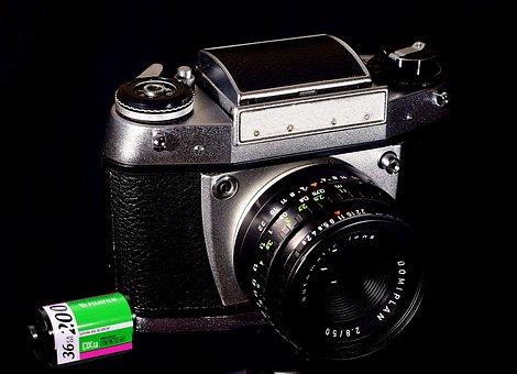 Analog Fotoapparat, Film, Kleinbild Film