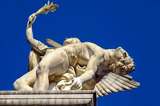 Monument, Greek Gods Figures, Figures
