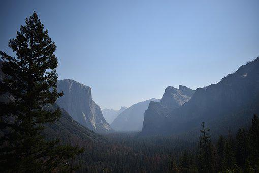 Yosemite National Park, Nature, Landscape, California
