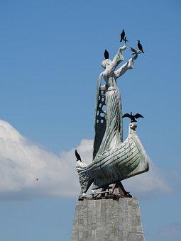 Bulgaria, Nessabar, Statue, Saint Nicholas