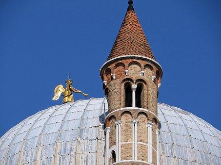 Italy, Padua, Belfry, Dome, Basilica, Saint Antoine