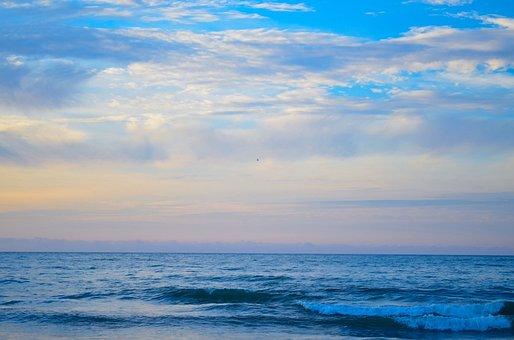 Sea, Life, Peace, Beach, Sunset, Mexico, Blue