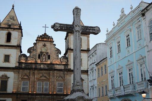 Cruz, Church, Bahia, Salvador, Pelourinho